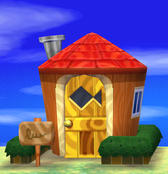 Exterior of Sylvana's house in Animal Crossing: New Leaf