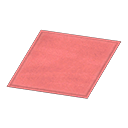Simple Small Red Mat