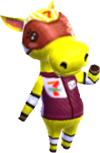 Filly, an Animal Crossing villager.