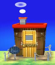 Drift's house exterior