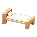 Wooden-Block Bed