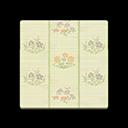 Floral Rush-Mat Flooring