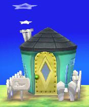 Aurora's house exterior