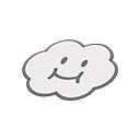 Lakitu's Cloud Rug