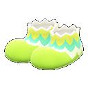 Leaf-Egg Shoes