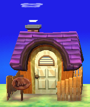 Exterior of Vivian's house in Animal Crossing: New Leaf