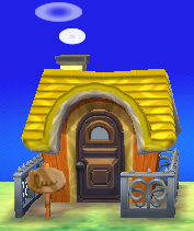 Exterior of Chief's house in Animal Crossing: New Leaf