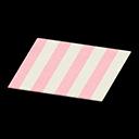 Peach Stripes Rug