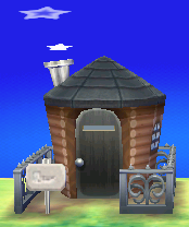 Zell's house exterior