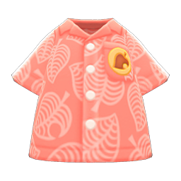 Coral Nook Inc. Aloha Shirt