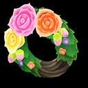 Fancy Rose Wreath