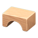 Wooden-Block Stool