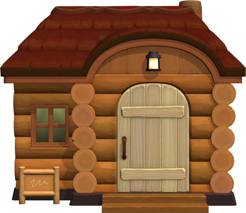 Exterior of Erik's house in Animal Crossing: New Horizons