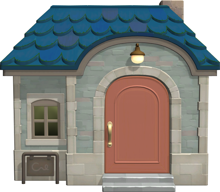 Exterior of Judy's house in Animal Crossing: New Horizons