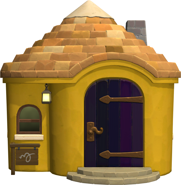 Exterior of Ankha's house in Animal Crossing: New Horizons