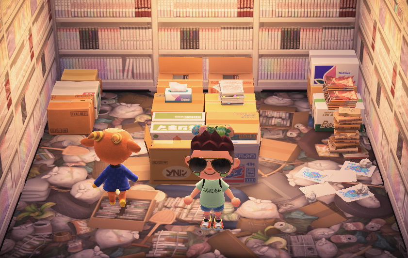 Interior of Billy's house in Animal Crossing: New Horizons