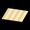 Yellow Stripes Rug