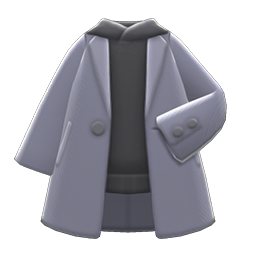 Parka Undercoat (Gray) NH Icon.png