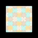 Sepia Puzzle Flooring