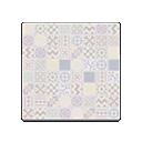 Patchwork-Tile Flooring
