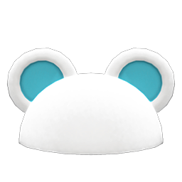 Flashy Round-Ear Animal Hat