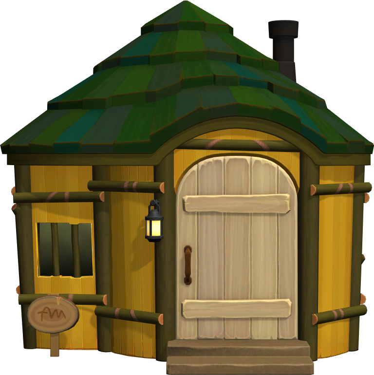 Exterior of Prince's house in Animal Crossing: New Horizons