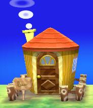 Beau's house exterior