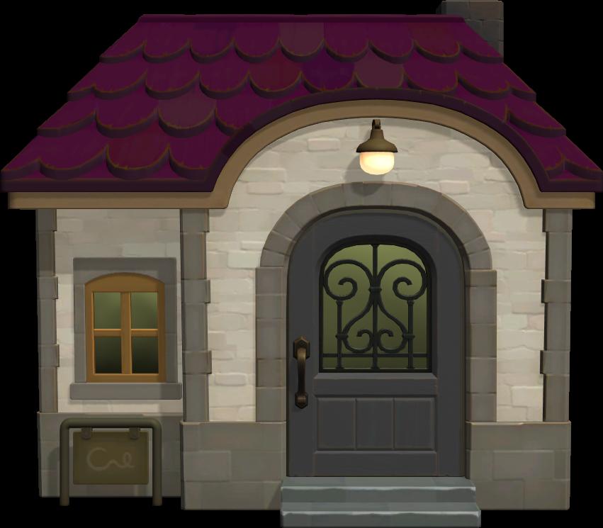 Exterior of Gigi's house in Animal Crossing: New Horizons