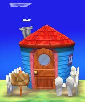 Rilla's house exterior