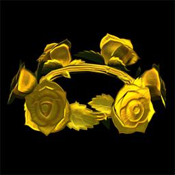 Gold Rose Crown