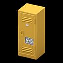 Upright Locker (Yellow - Cool) NH Icon.png