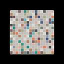 Colorful Mosaic-Tile Flooring