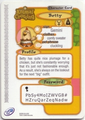 Animal Crossing-e 3-146 (Betty - Back).jpg