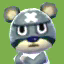 Curt's picture in Animal Crossing: New Leaf
