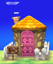 Exterior of Tammy's house in Animal Crossing: New Leaf