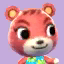 Cheri's picture in Animal Crossing: New Leaf