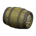 Sideways Pirate Barrel