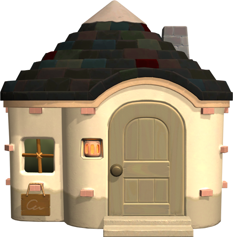 Exterior of Antonio's house in Animal Crossing: New Horizons