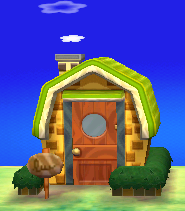 Exterior of Nate's house in Animal Crossing: New Leaf