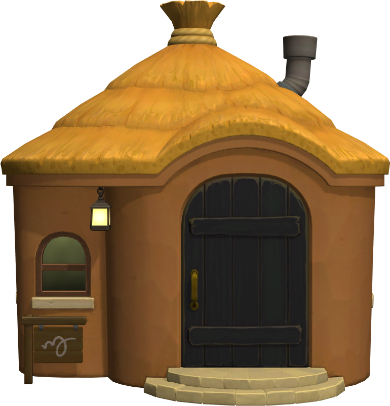 Exterior of Sparro's house in Animal Crossing: New Horizons