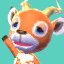 Beau's picture in Animal Crossing: New Leaf