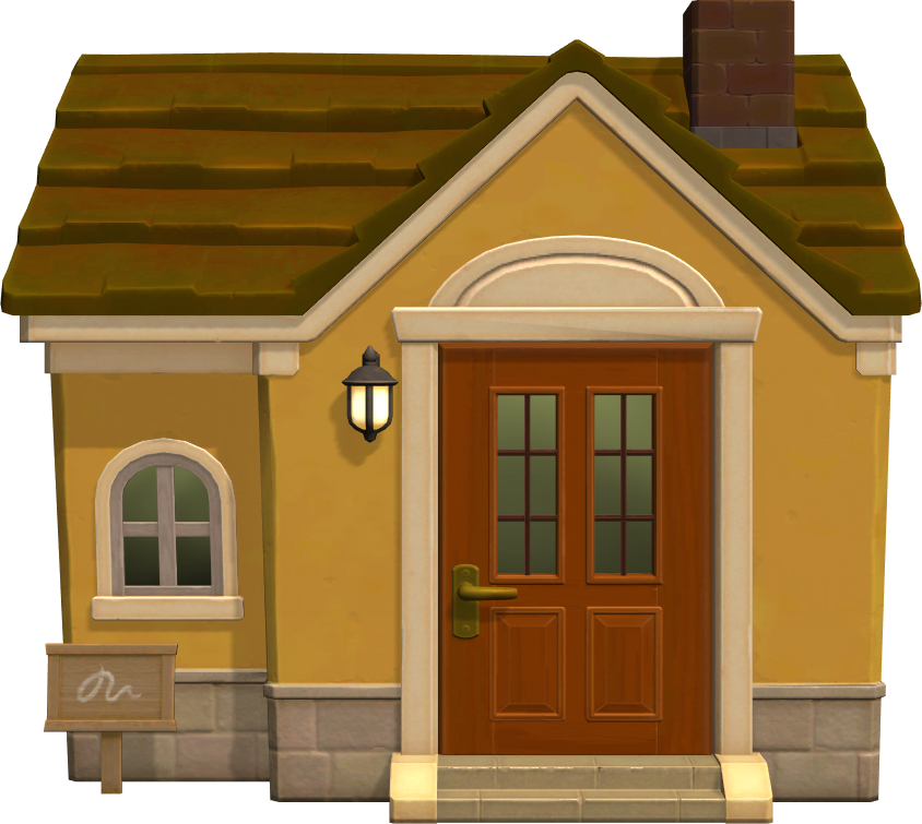 Exterior of Eloise's house in Animal Crossing: New Horizons