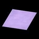 Simple Medium Purple Mat
