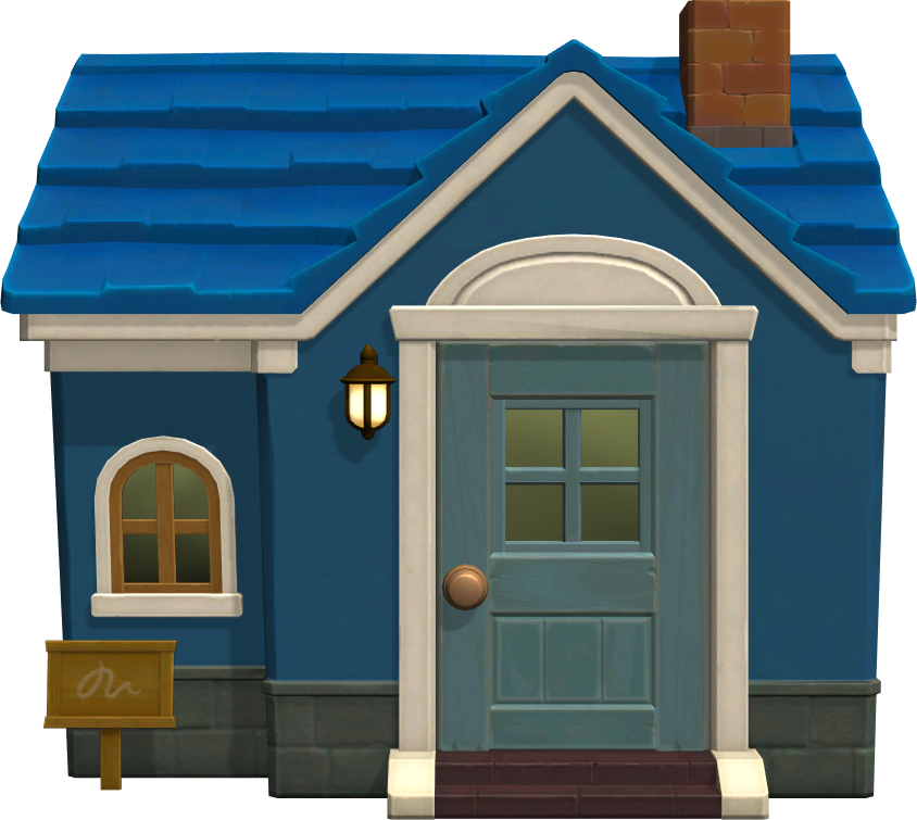 Exterior of Filbert's house in Animal Crossing: New Horizons
