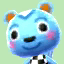 Filbert's picture in Animal Crossing: New Leaf