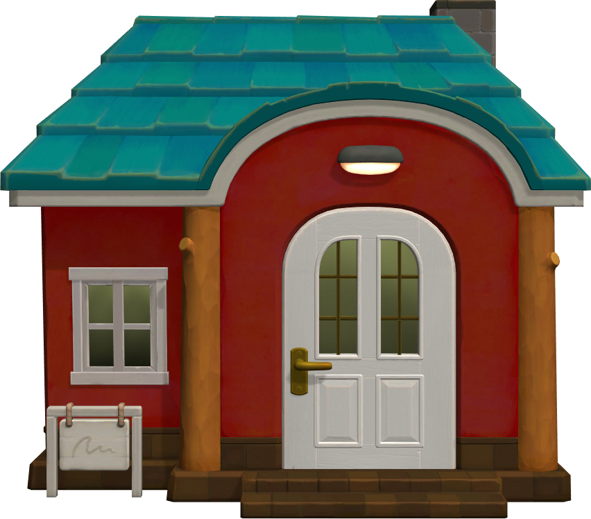 Exterior of Astrid's house in Animal Crossing: New Horizons