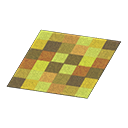 Yellow Blocks Rug