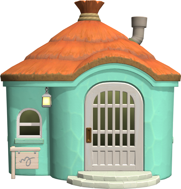 Exterior of Audie's house in Animal Crossing: New Horizons