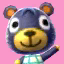 Poncho's picture in Animal Crossing: New Leaf