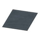 Simple Small Black Mat